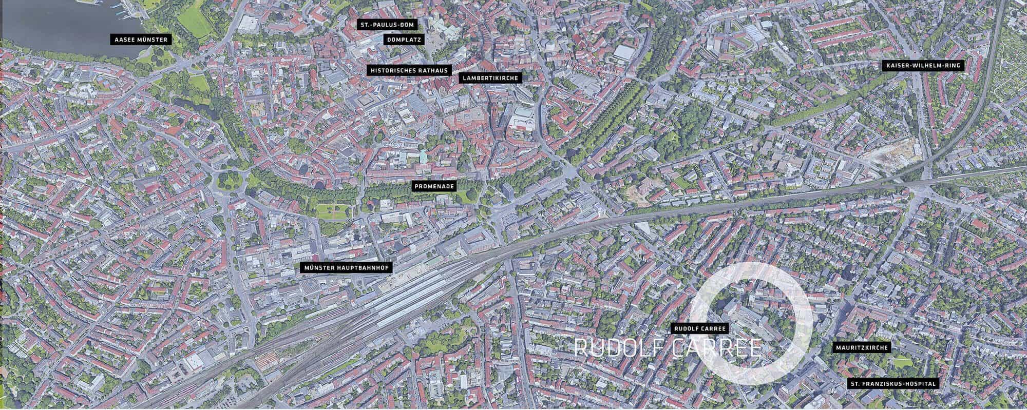 Lageplan Münster
